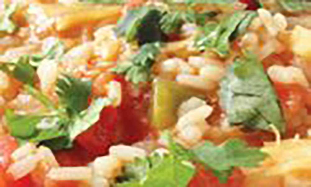 Arroz de bacalhau com batata doce