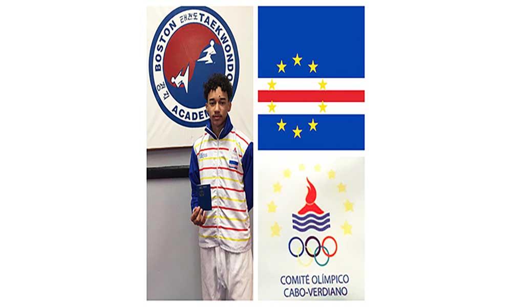 Nicalas Fernandes é o mais novo membro da equipa nacional de taekwondo