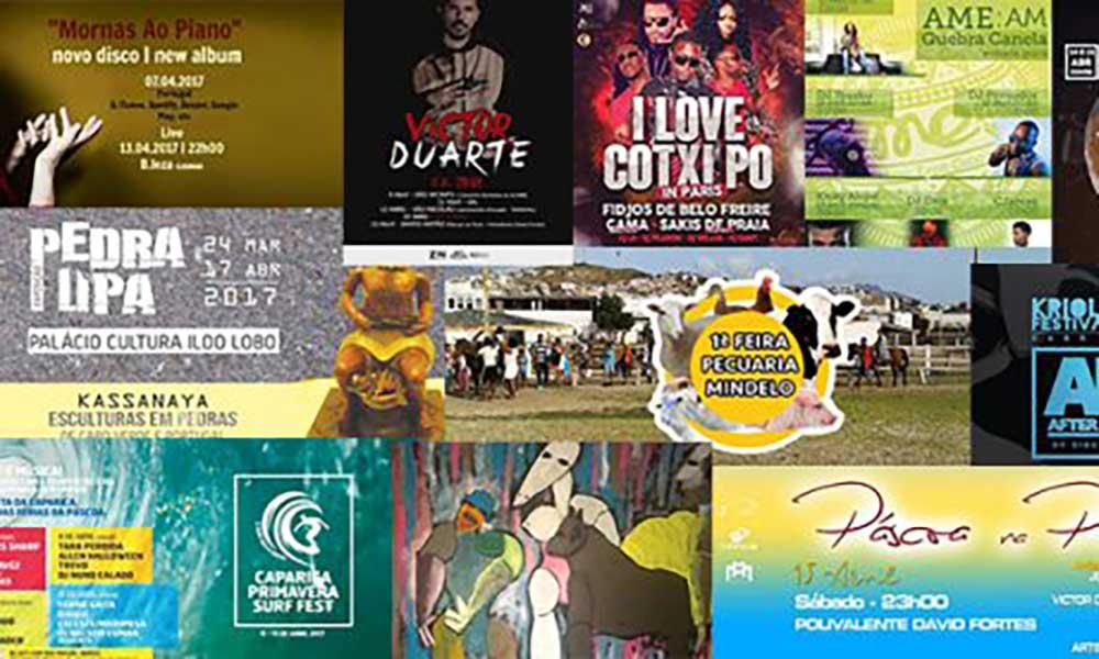 Agenda Cultural de 13 a 19 de Abril
