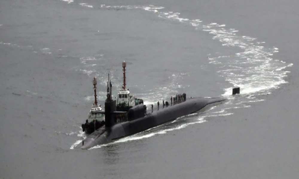Tensão nuclear: EUA envia submarino à península da Coreia do Norte