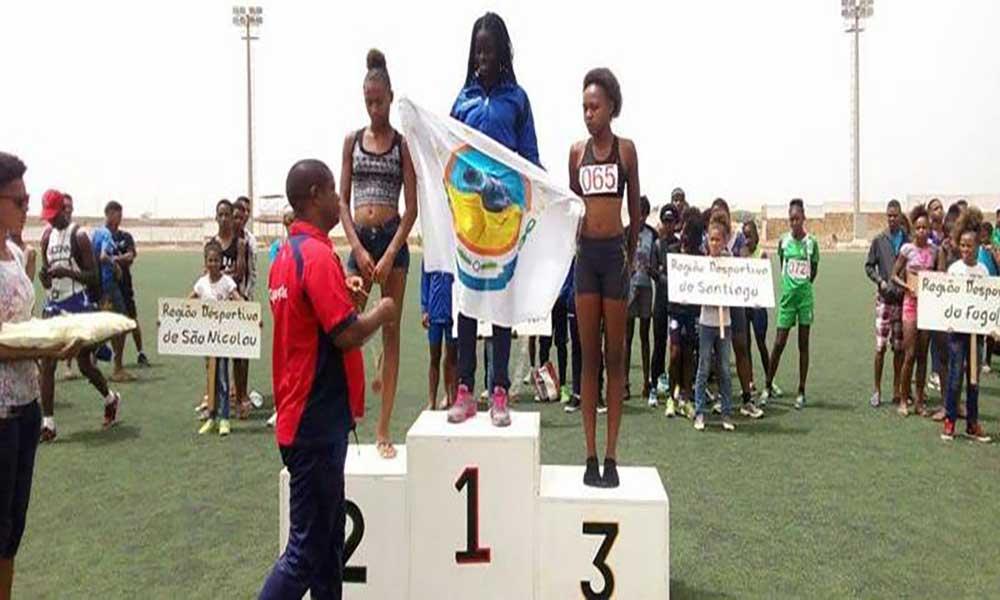 Nacional de Atletismo Sub-18: Sal leva a melhor