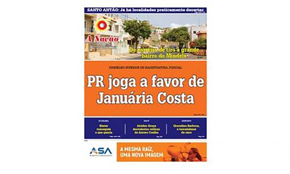 Destaques da edição 508 do Jornal A NAÇÃO