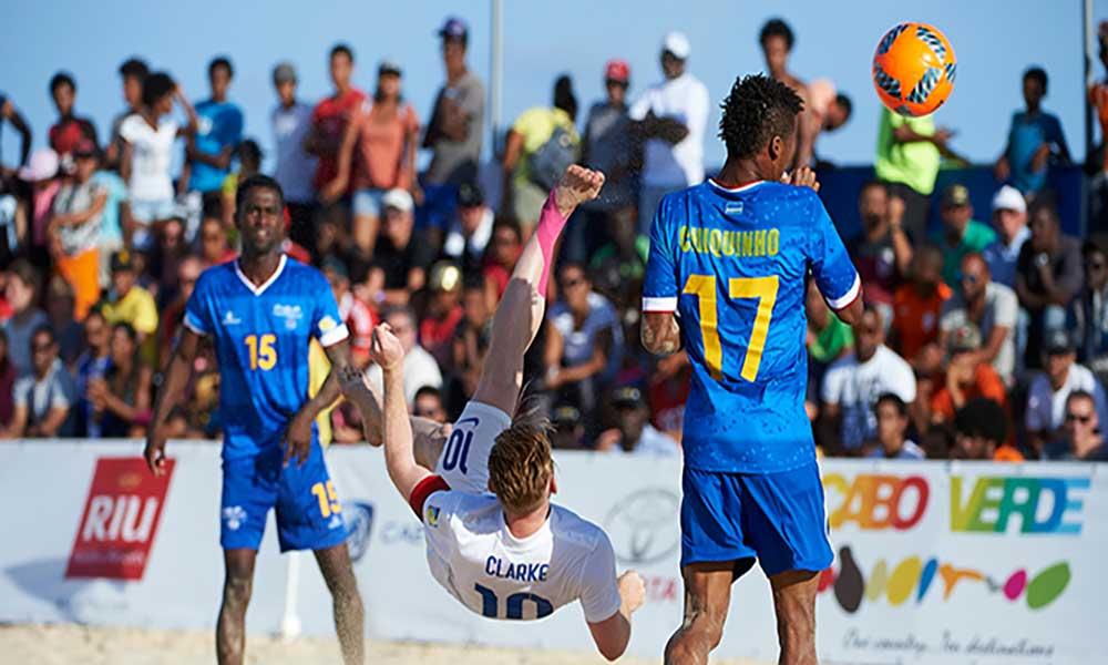 Sal Beach Soccer: Cabo Verde volta a perder