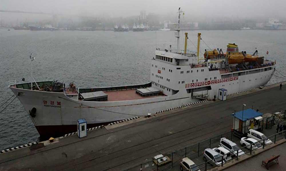 """Lançada primeira ligação """"ferry"""" entre a Rússia e a Coreia do Norte"""