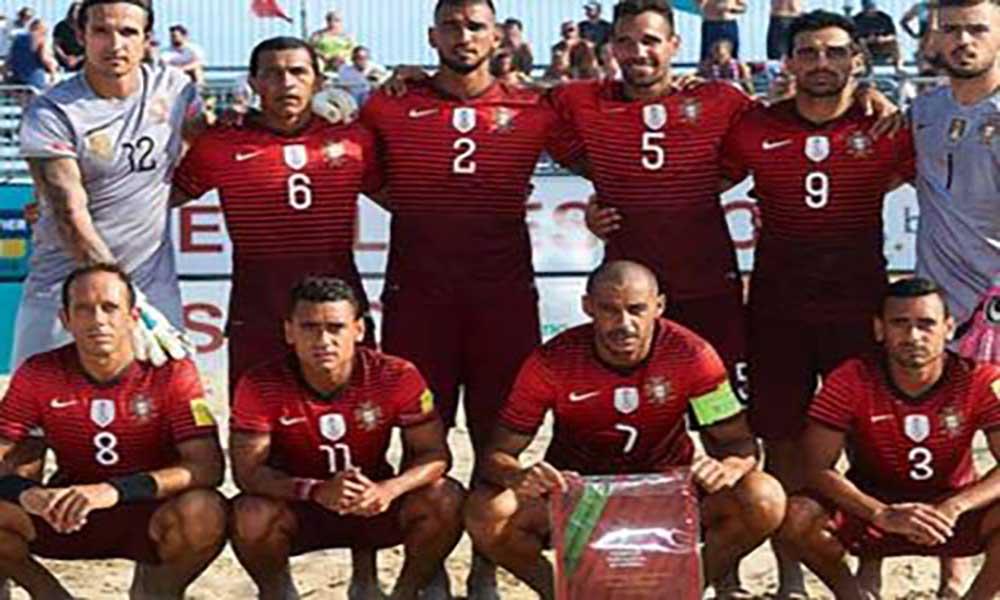 Portugal conquista segunda edição do Sal Beach Soccer