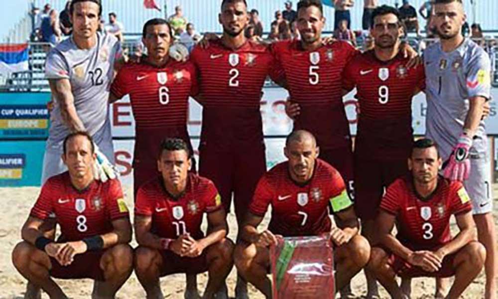 Mundial Futebol de Praia: Portugal eliminado nas vésperas do Sal Beach Soccer