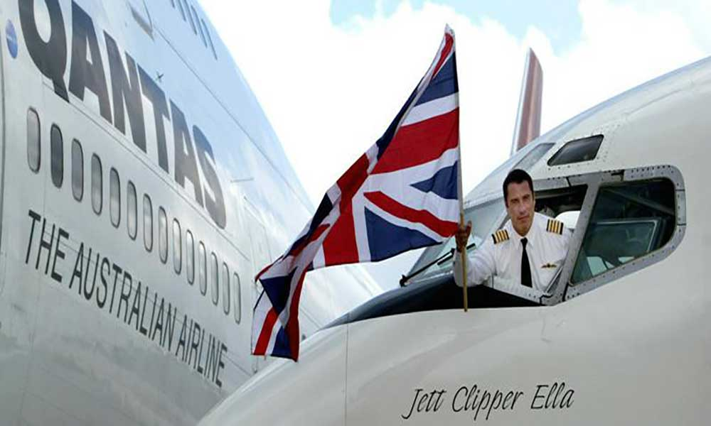 Austrália: John Travolta doao seu Boeing 707 a museu