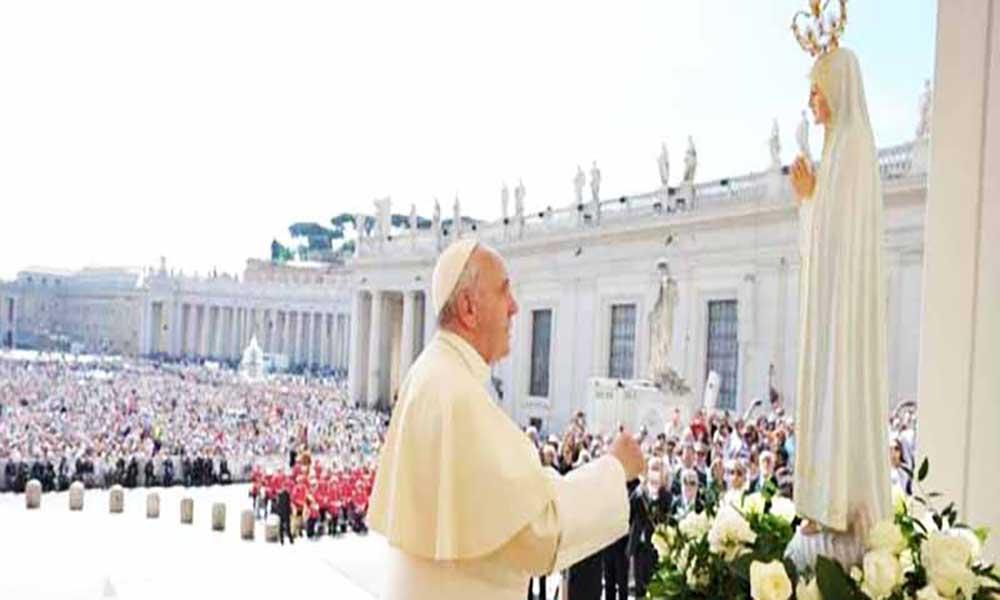 Portugal: Papa hoje e amanhã em Fátima