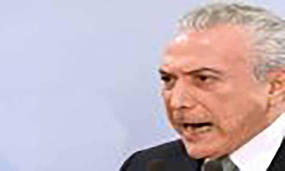 Em Cabo Verde, Temer pede a presidente atenção ao caso de brasileiros presos por tráfico