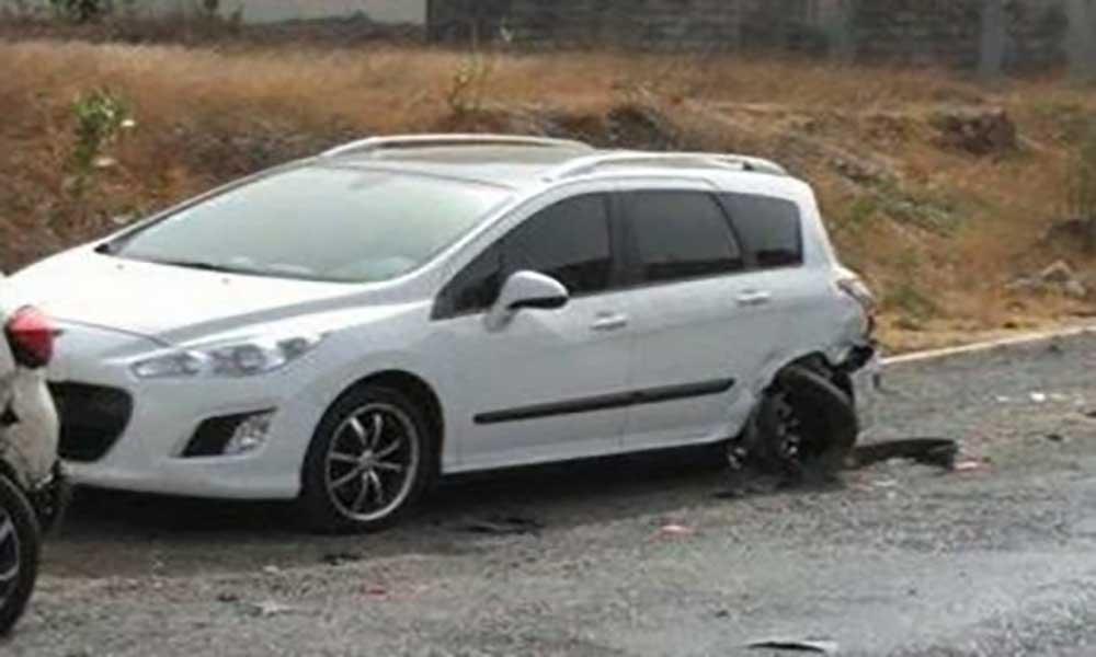 Praia: Acidente de viação danifica três carros na Cidadela