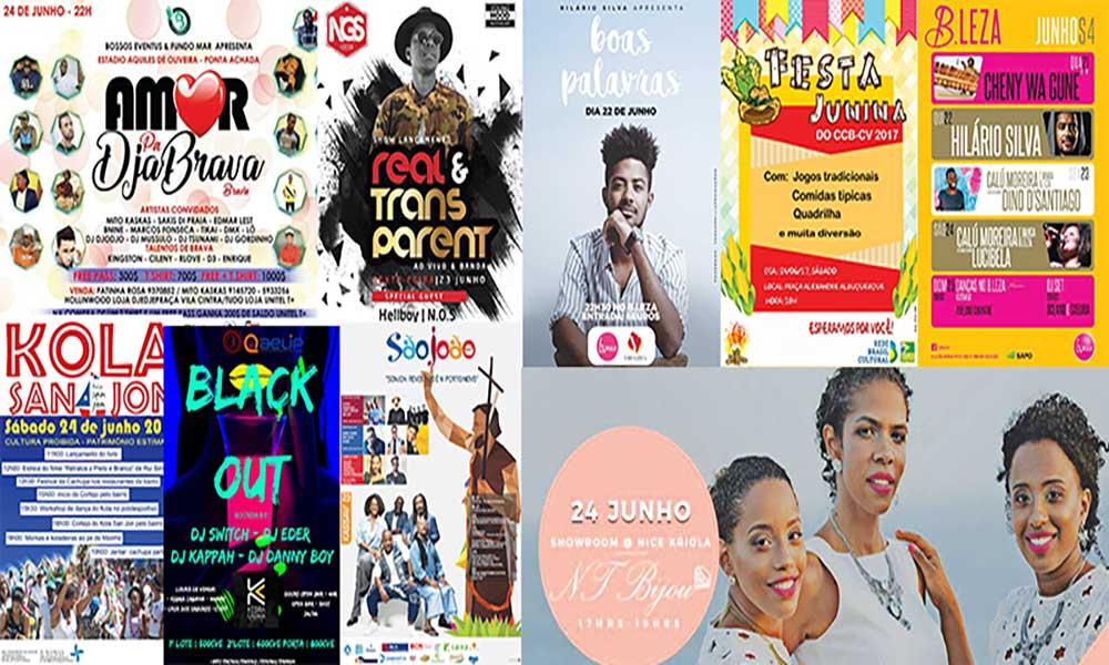 Agenda cultural de 22 a 28 de Junho de 2017