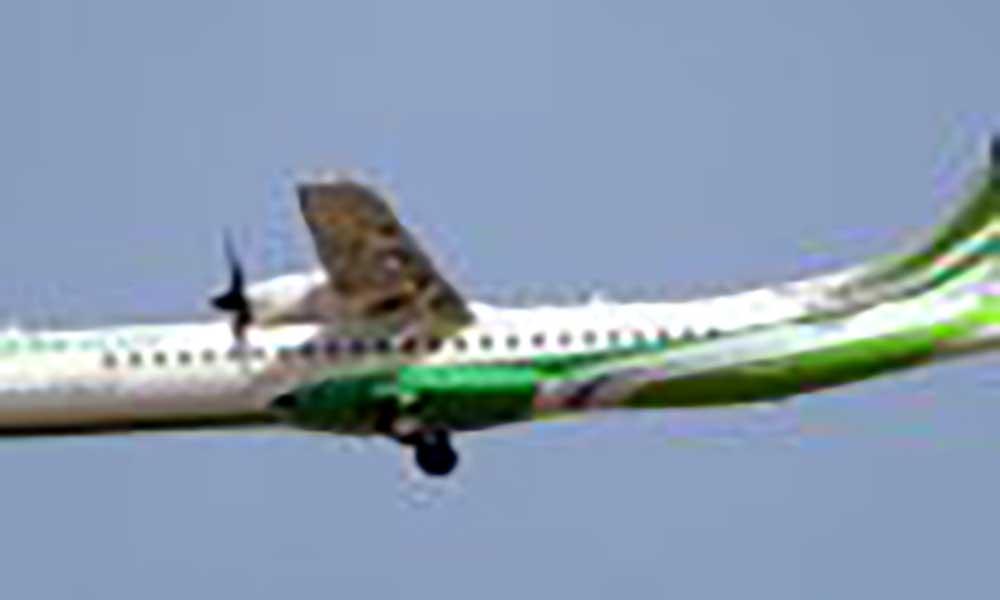 Mau tempo em São Vicente obriga avião a regressar à Praia