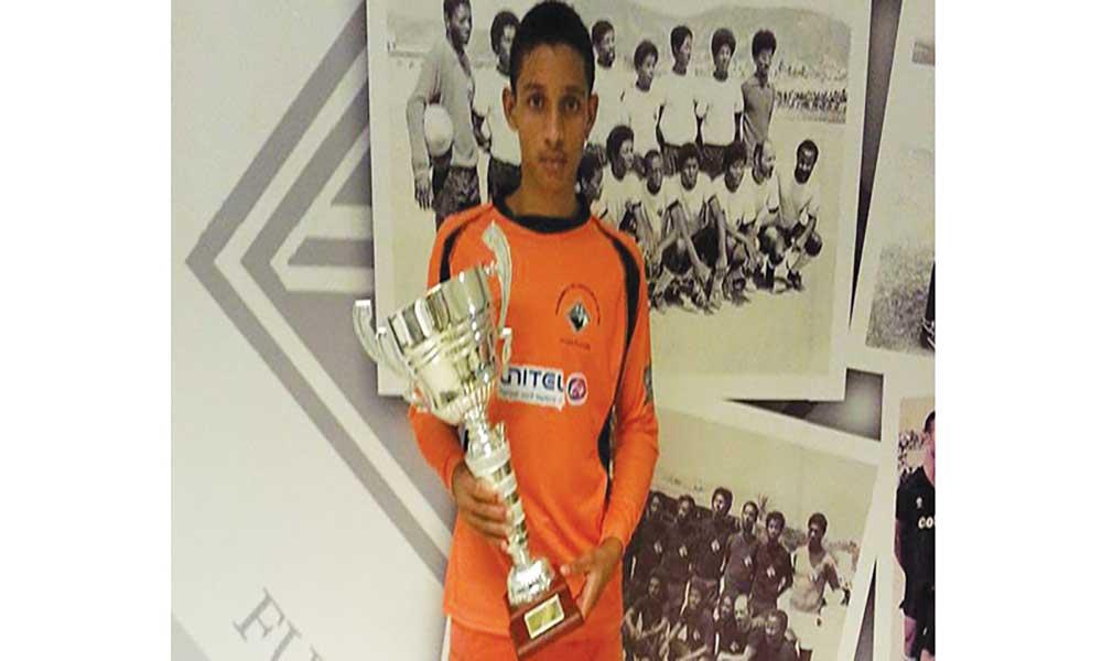 Héricles Delgado: O mais jovem jogador do Nacional 2017