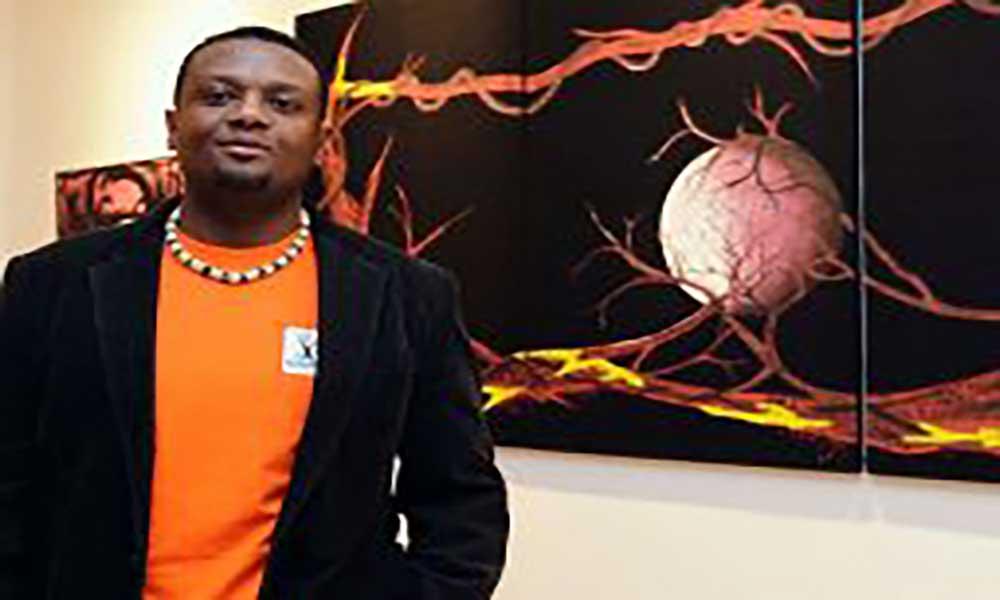 Diáspora: Artista plástico Nelson Neves expõe em Bissen