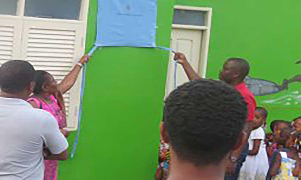 São Miguel: Câmara reabilita jardim infantil de Ponta verde