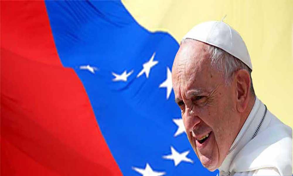 Vaticano: Papa fala com líderes religiosos venezuelanos sobre crise