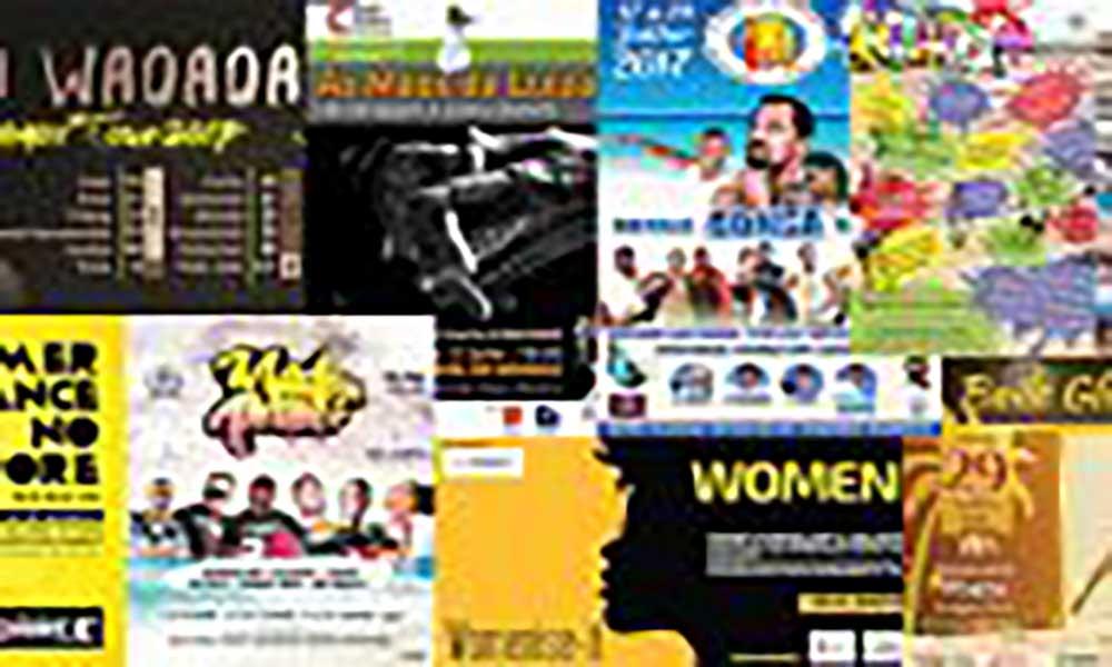 Agenda cultural de 20 Julho a 26 de Julho de 2017