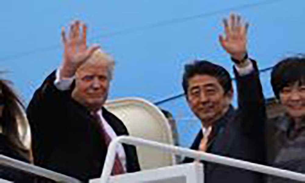 Primeira-dama do Japão teria fingido não saber inglês para evitar Trump
