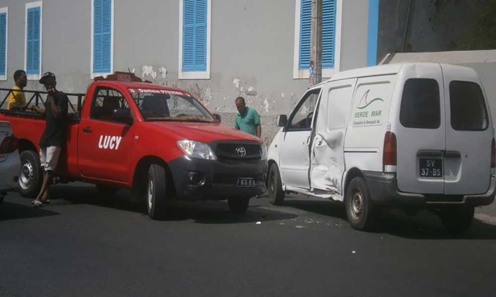 São Vicente: Acidente de viação na Avenida 5 Julho
