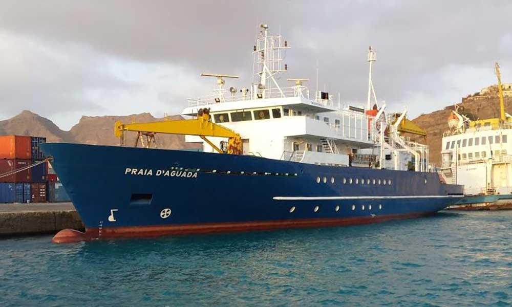 Navio Praia d'Aguada faz viagem inaugural para São Nicolau no dia 31