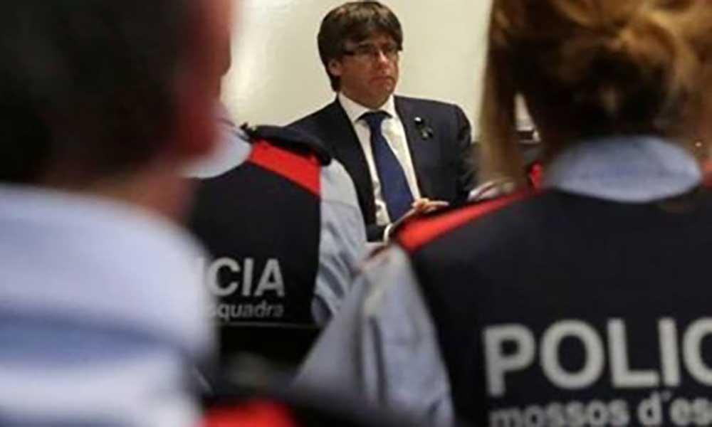 """Espanha: Puidgemont avisa que continuará  a defender """"a justa causa do povo catalão"""""""