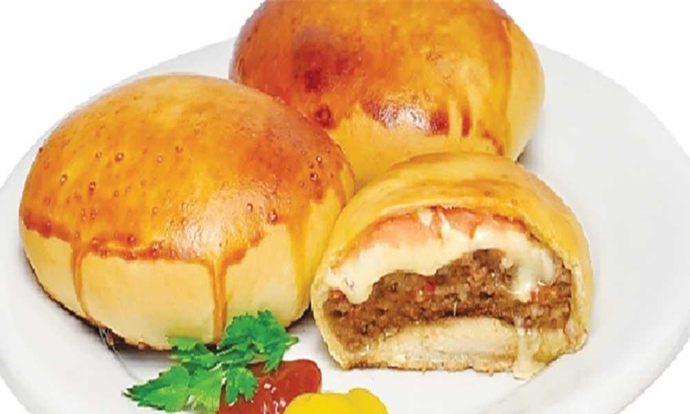 Mini-hambúrguer  de forno