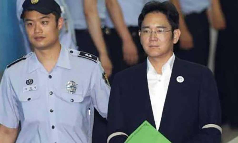 Coreia do Sul: Justiça pede 12 anosde prisão para herdeiro da Samsung