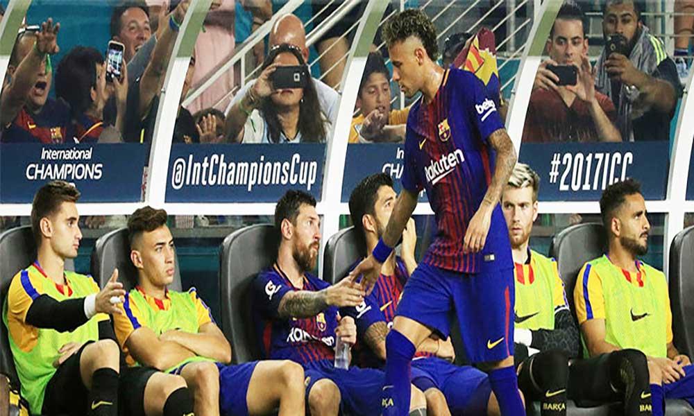 Neymar troca Barça pelo PSG