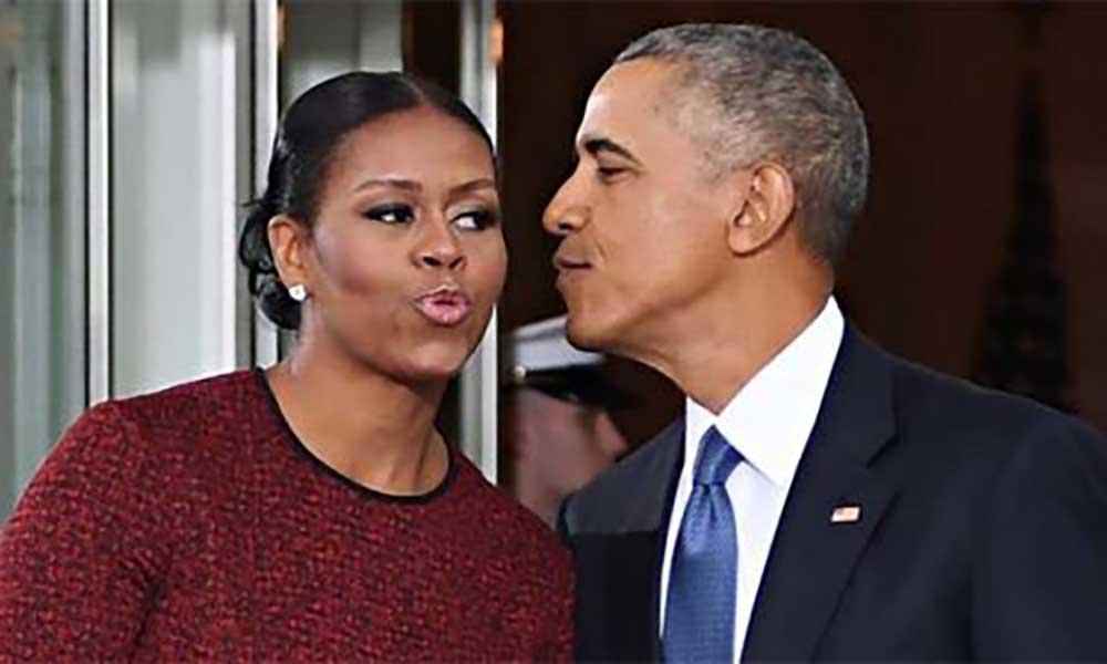 Michelle Obama dá os parabéns ao marido e afasta rumores de separação