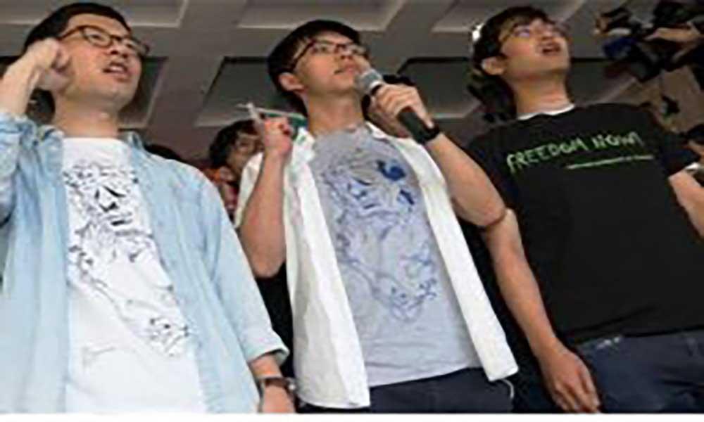 """Hong Kong: Governo defende sentença de prisão para líderes de """"Occupy"""""""