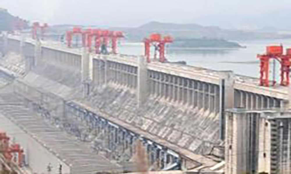Enorme barragem na China afecta a rotação da Terra