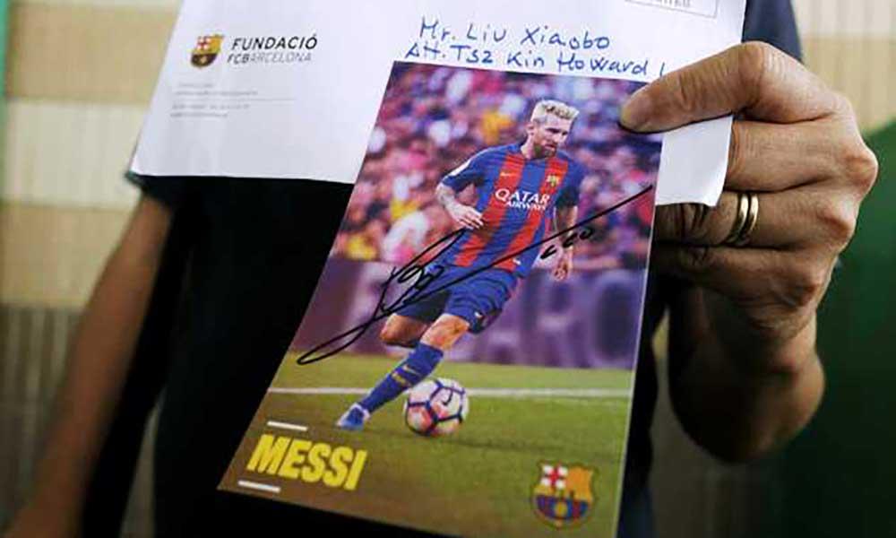 China: Activista acusa governo de lhe ter agrafado as pernas devido à foto de Messi