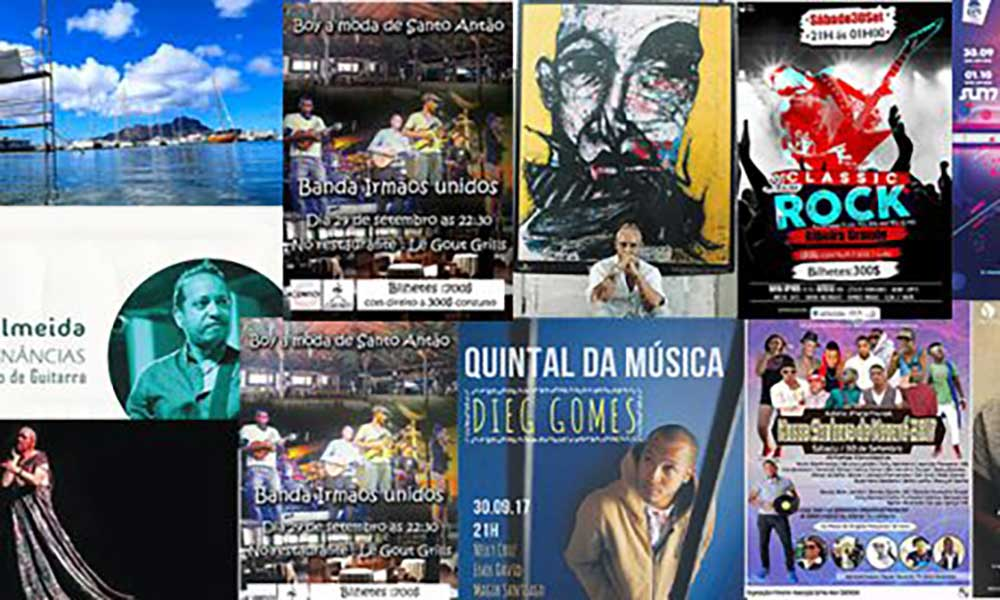 Agenda cultural de 29 de Setembro a 5 de Outubro de 2017