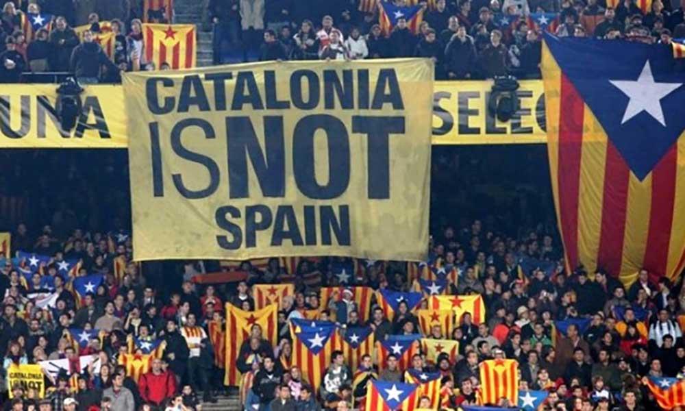Espanha: Separatistas catalães exibem força em manifestação