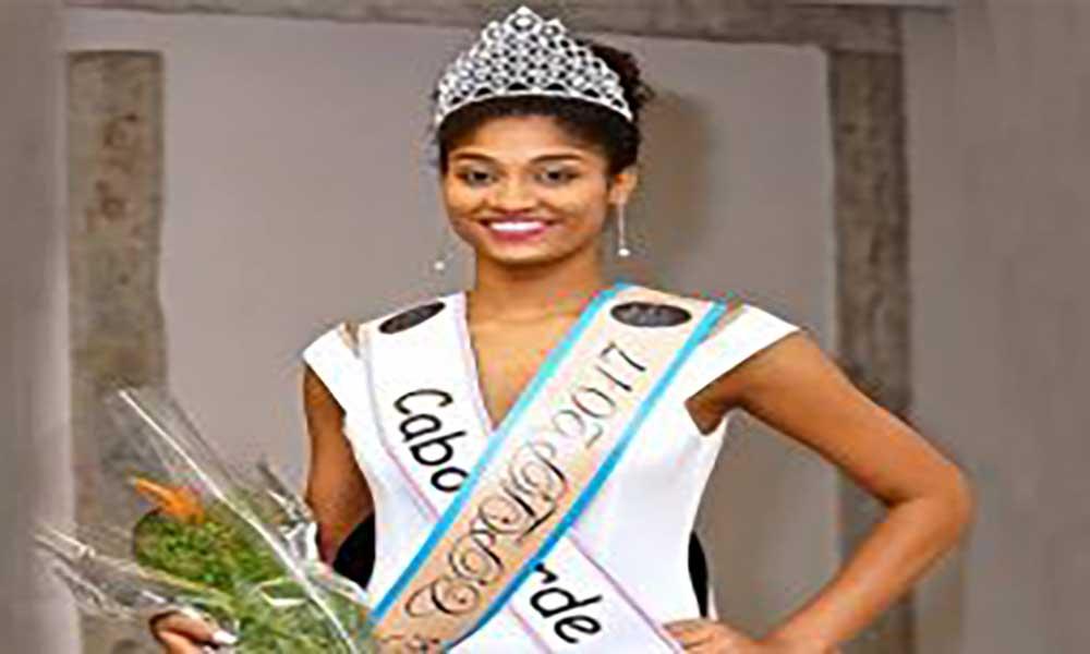 Cabo-verdiana Cristilene Pimenta eleita Miss CPLP'2017