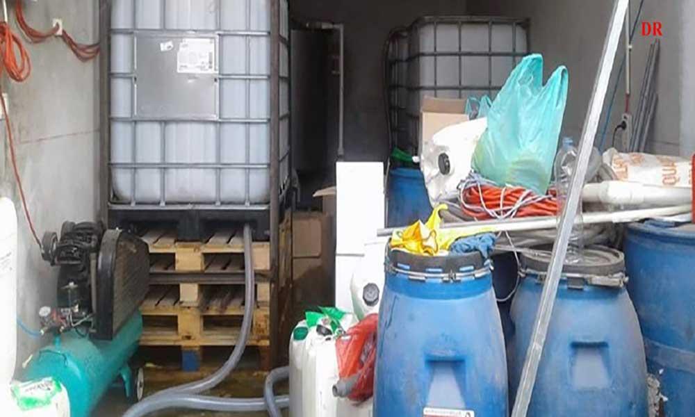 Descoberta fábrica clandestina de detergentes em Assomada(Com Fotos)