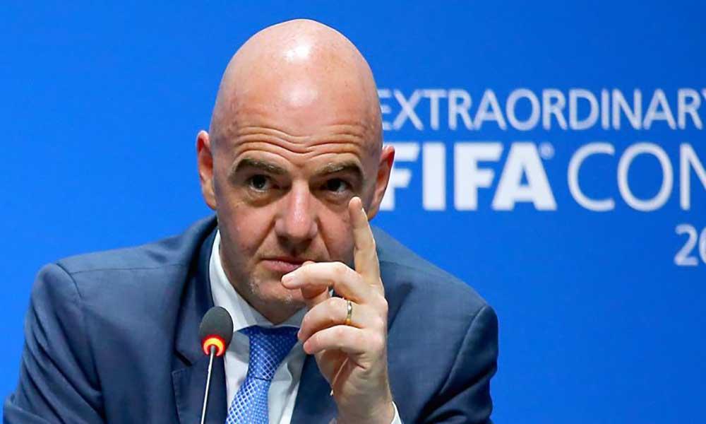 Gianni Infantino vai recandidatar-se à presidência da FIFA