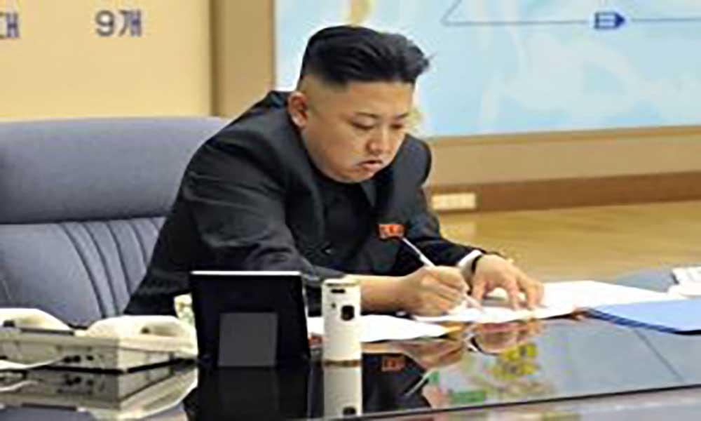 Kim Jong-un diz que Donald Trump está