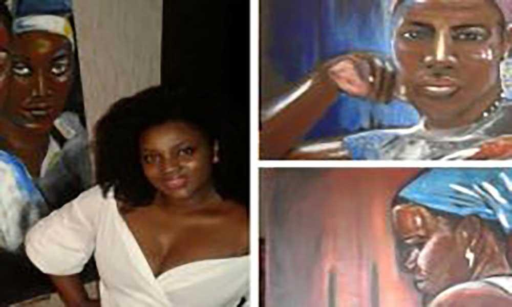 Mulheres cabo-verdianas do interior nas telas da artista plástica Sofia Semedo