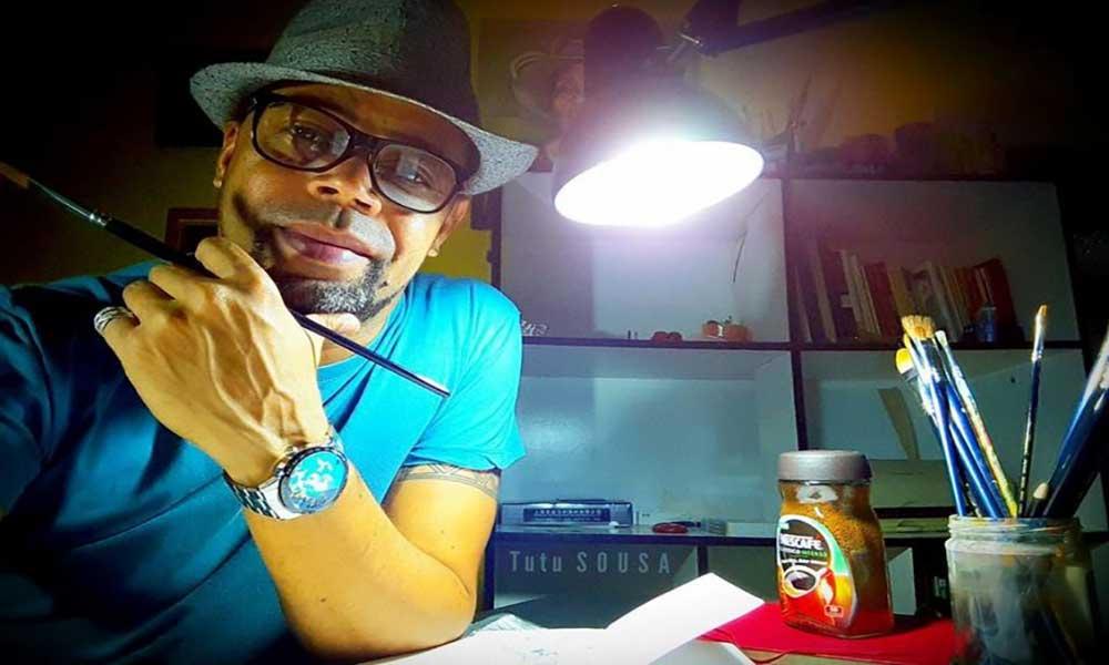 """""""Viver de arte em Cabo Verde é um acto de muita coragem"""" – Tutu Sousa"""