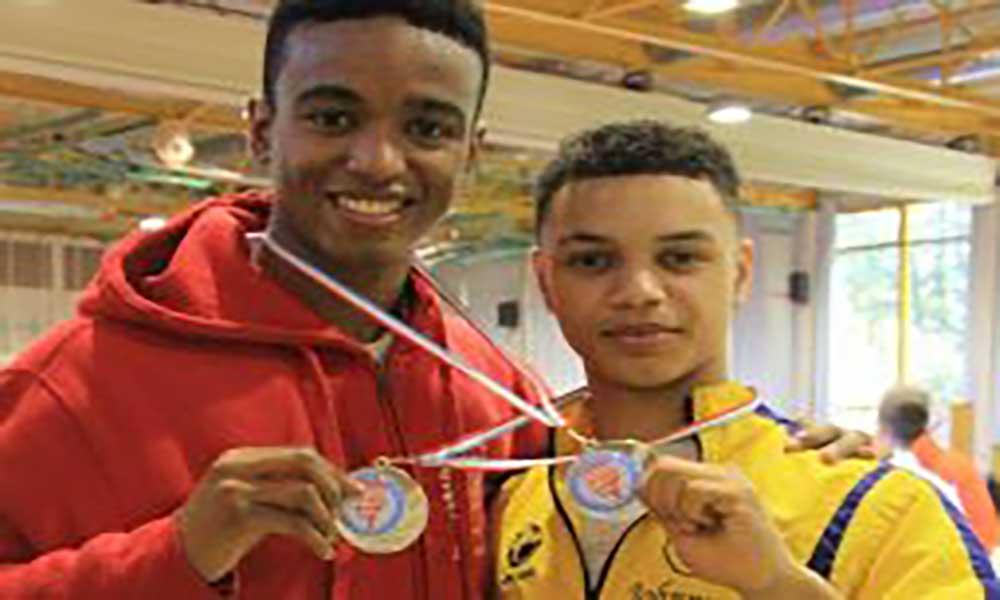 Karatecas de origem cabo-verdiana em destaque no Luxemburgo