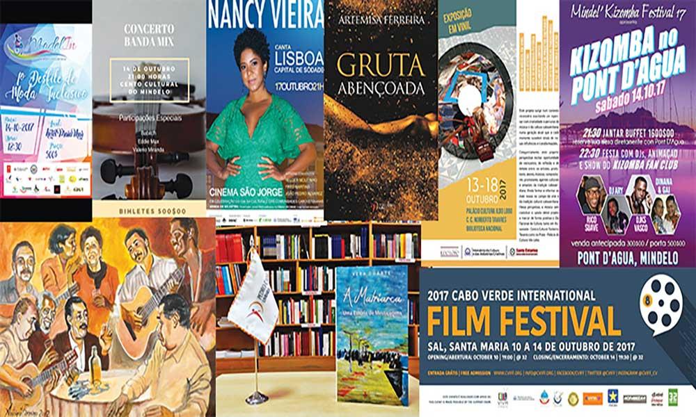 Agenda cultural de 13 a 19 de Outubro de 2017