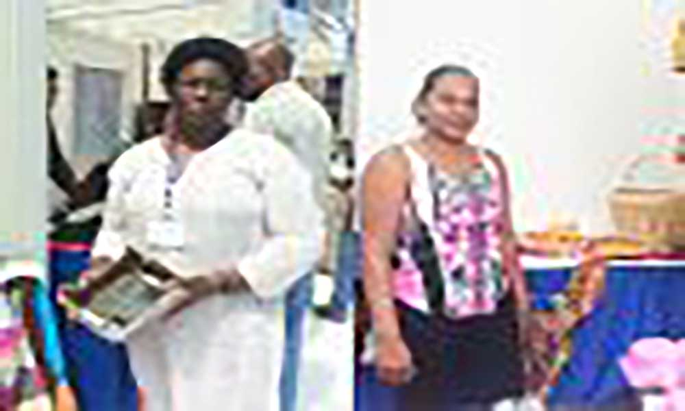 Artesãs satisfeitas com experiência do IV Fórum Mundial de Desenvolvimento Local