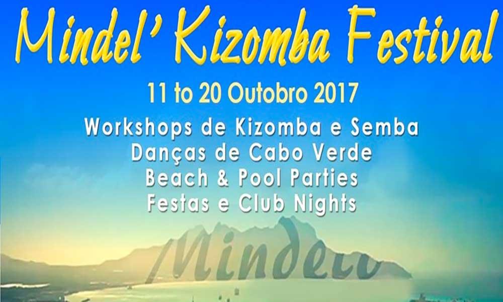 São Vicente: 2ª edição do Mindel' Kizomba Festival acontece de 11 a 20 de outubro