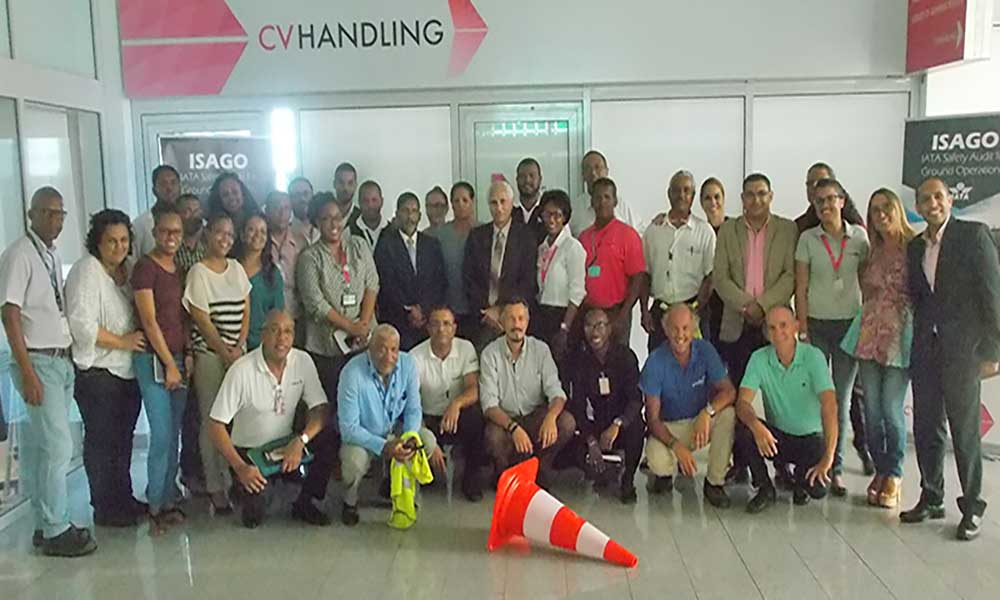 CV Handling obtém certificado Isago da IATA