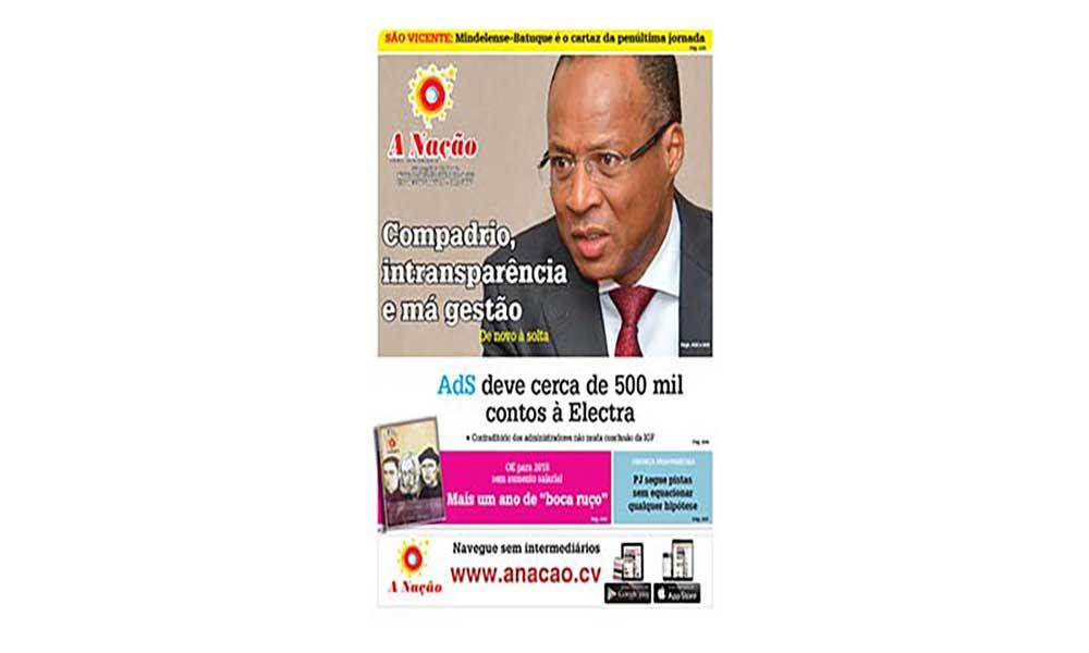 Destaques da edição 534 do Jornal A NAÇÃO