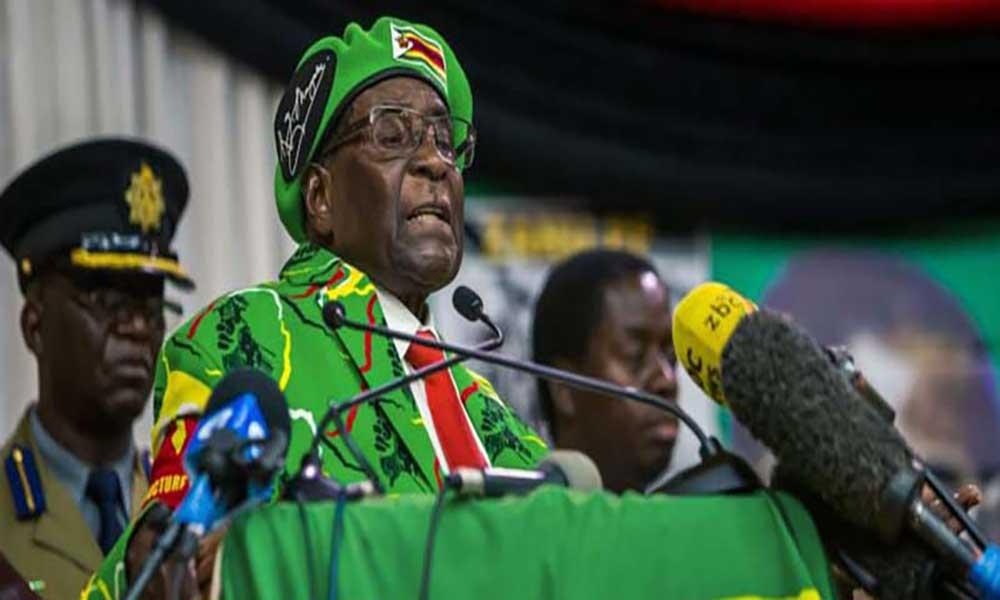 Mugabe já escreveu a sua carta de resignação
