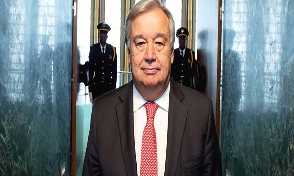 """Guterres """"horrorizado"""" com escravatura de migrantes na Líbia"""