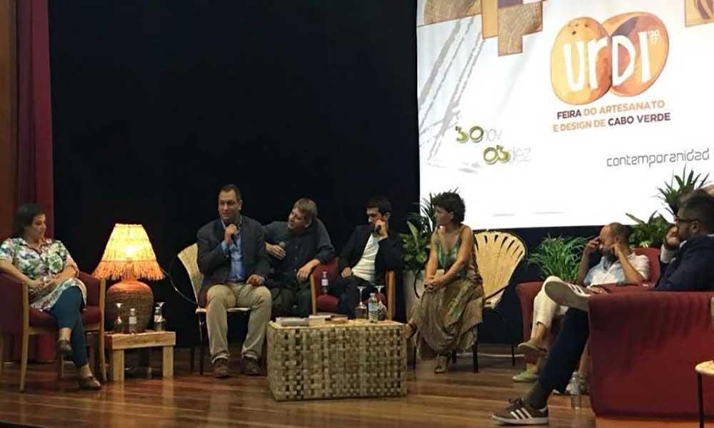 """São Vicente: Especialistas do artesanato e design reúnem-se em """"grandes conversas"""" durante a URDI"""
