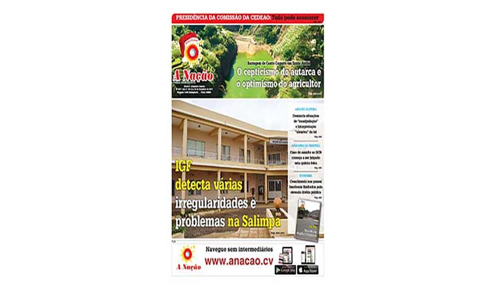 Destaques da edição 537 do Jornal A NAÇÃO